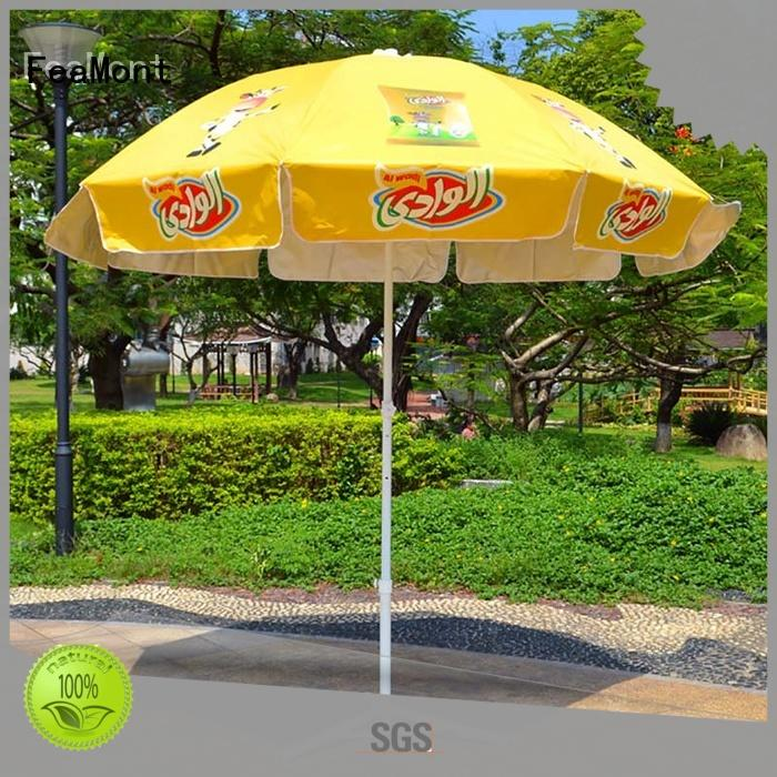 FeaMont beach red beach umbrella owner for party