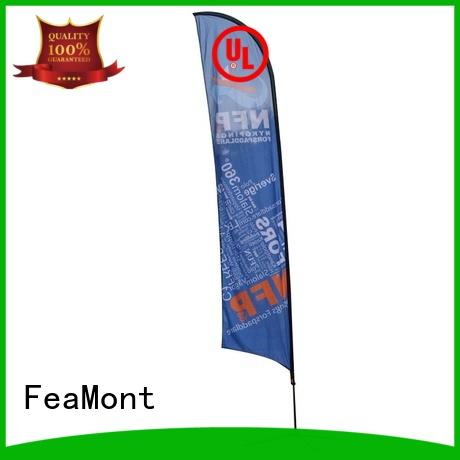 splendid custom advertising flags printed cancopy for trade show