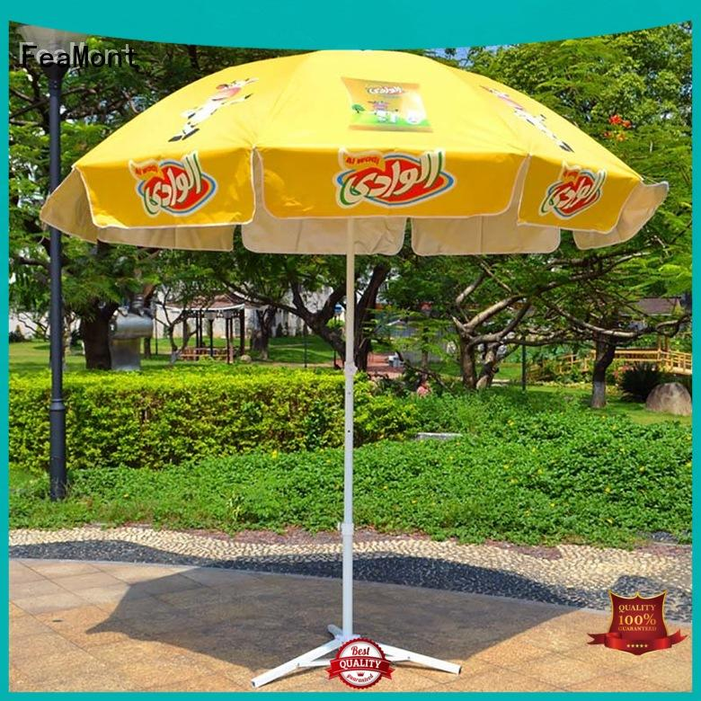 FeaMont top sun umbrella marketing for event