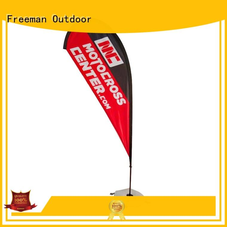 resistance beachflag wind-force for trade show FeaMont