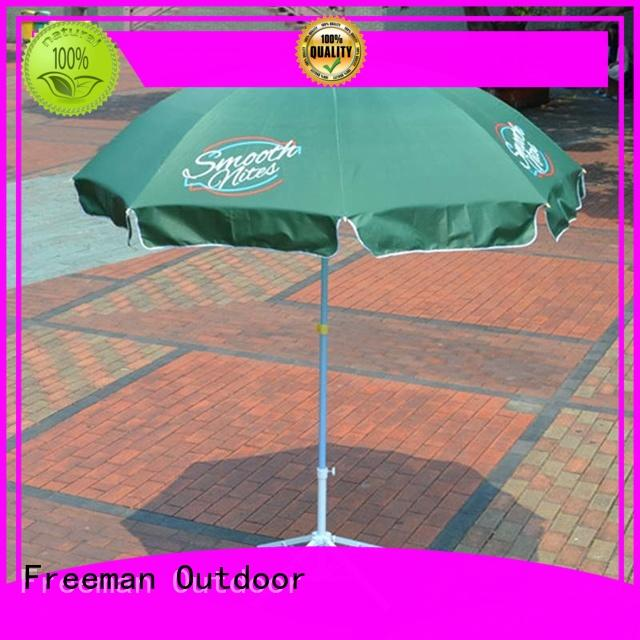 outdoor black and white beach umbrella effectively for advertising FeaMont