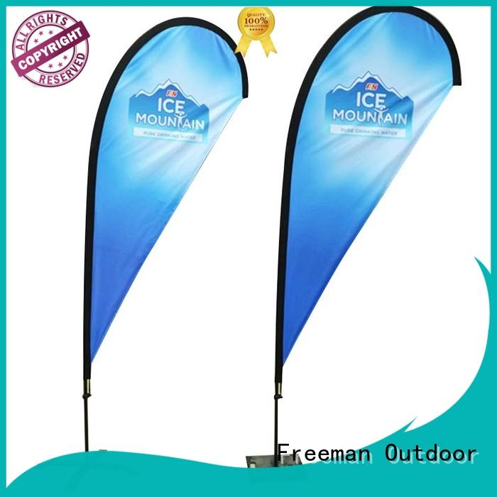 FeaMont fiberglass flag banners for-sale for outdoor activities