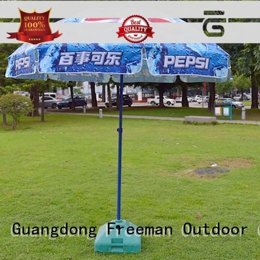 new-arrival custom beach umbrella price for engineering Freeman Outdoor