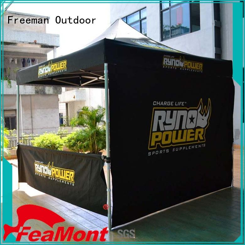 FeaMont aluminium 10x10 canopy tent certifications for advertising
