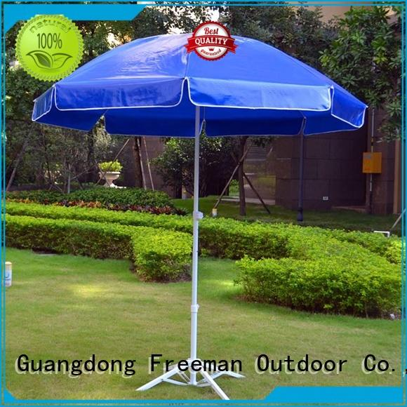 FeaMont foldable beach umbrella effectively for exhibition