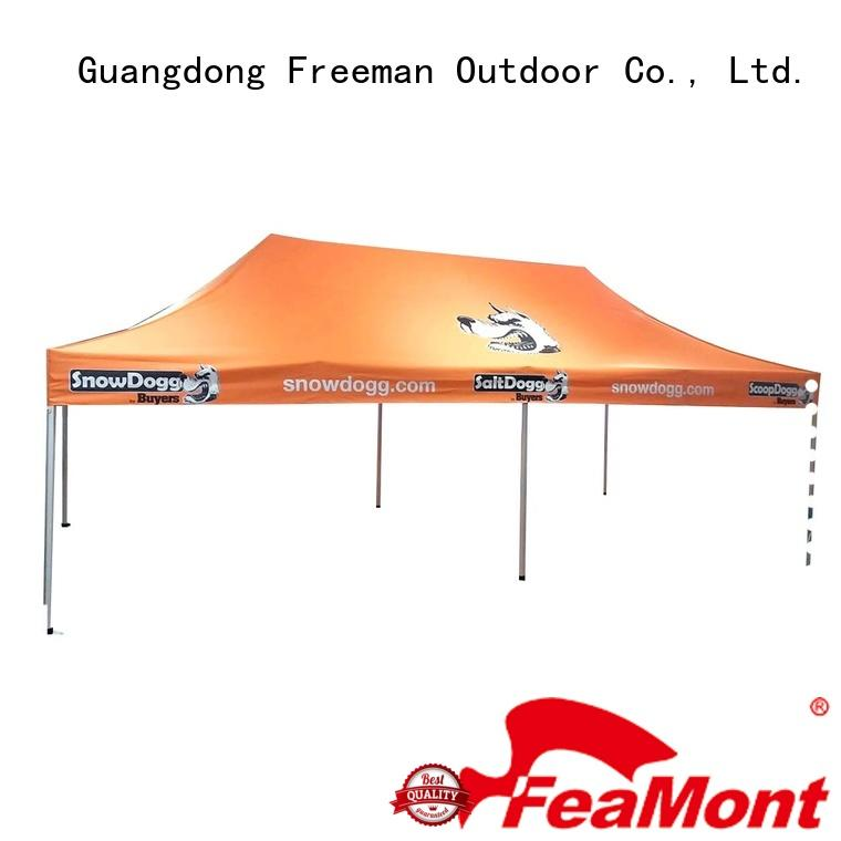 FeaMont strength 10x10 canopy tent in different shape for trade show