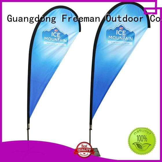 Freeman Outdoor stable beach flag banners type in beach