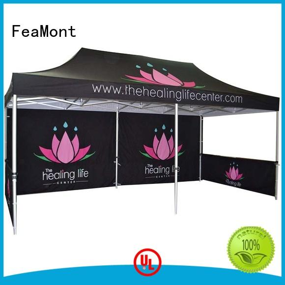 FeaMont exhibition lightweight pop up canopy solutions for trade show