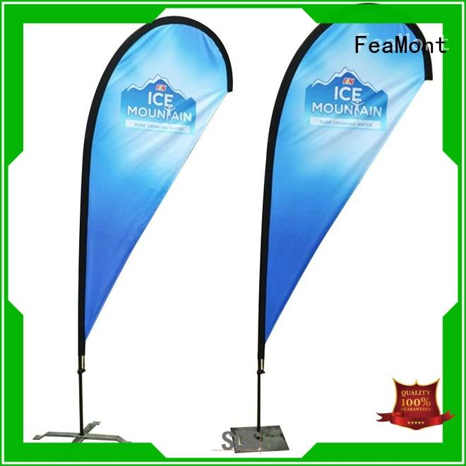 FeaMont outdoor feather flag cancopy for sport events
