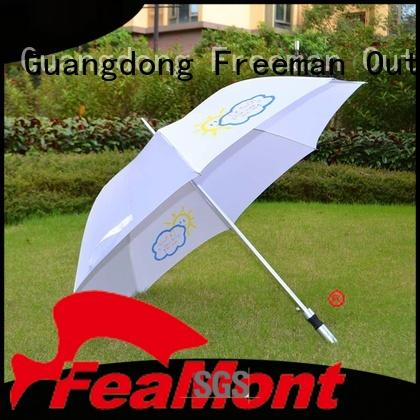 FeaMont automatical canvas umbrella application for camping