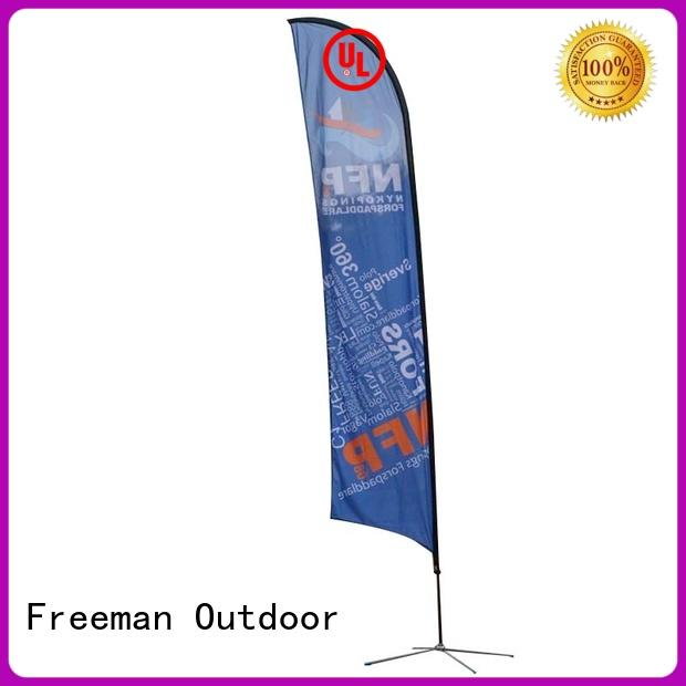 Freeman Outdoor stable flag printing fiberglass