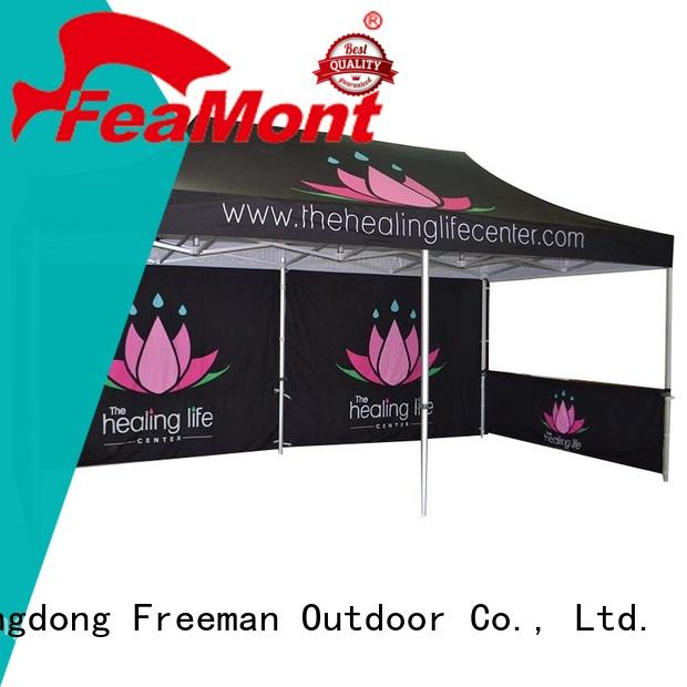 FeaMont printed event tent production for sport events
