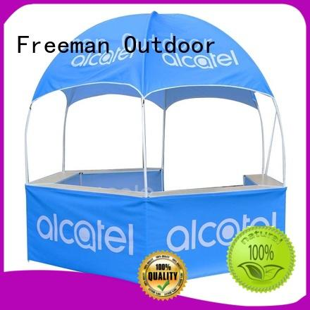 FeaMont first-rate dome display tent in-green for sport events