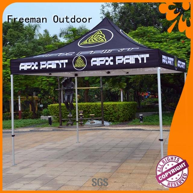 affirmative advertising tent for sporting
