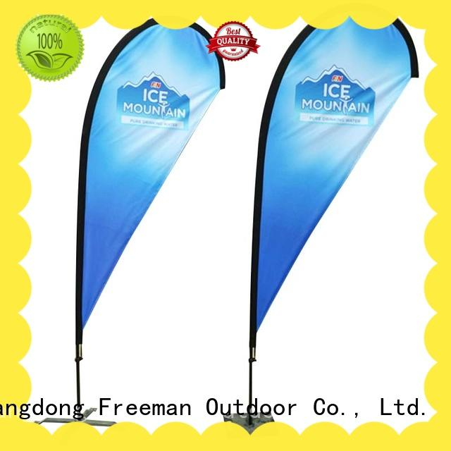 FeaMont outdoor advertising flag type for outdoor activities