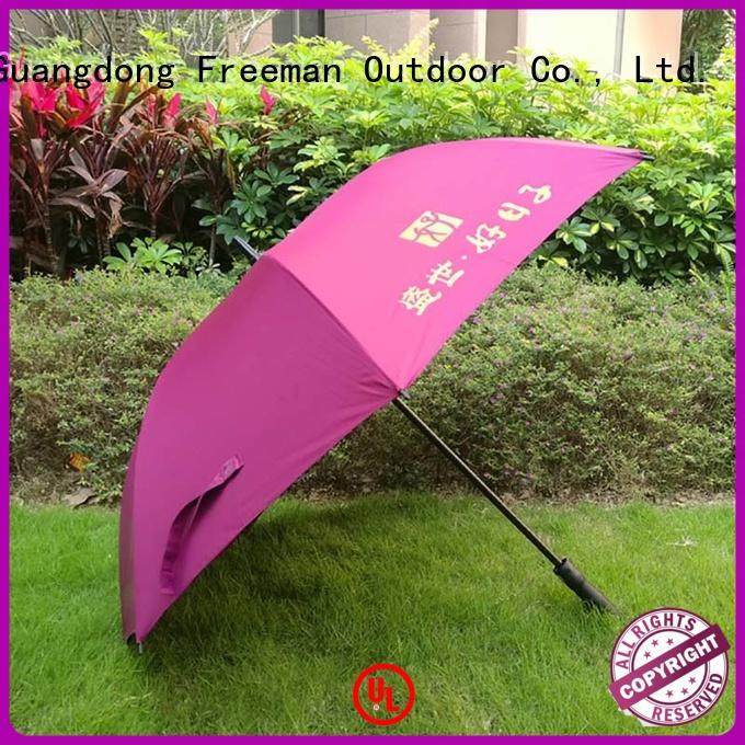 outdoor golf umbrella advertising constant for exhibition