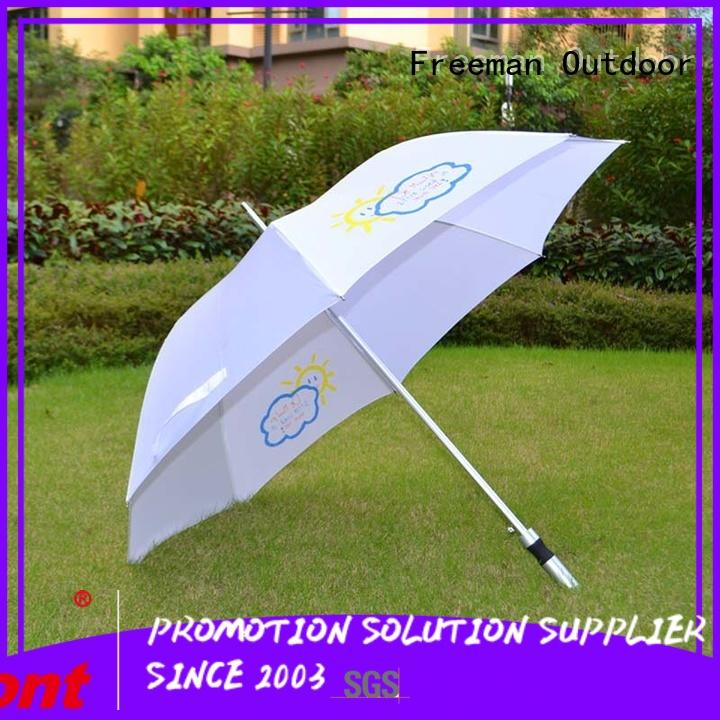 straight promotional umbrella for-sale for outdoor exhibition FeaMont
