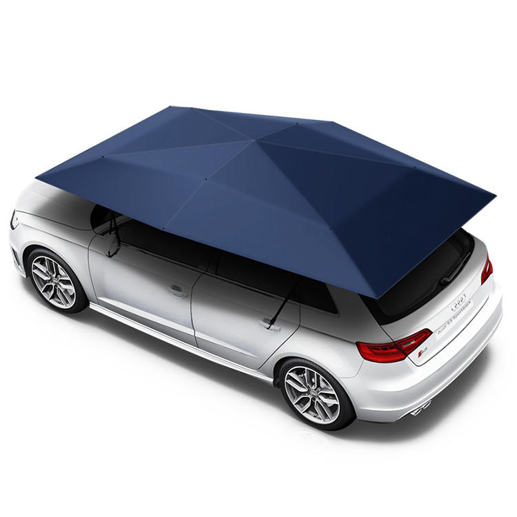 New design Anti-UV automatic folding sun shade covering roof car cover car umbrella
