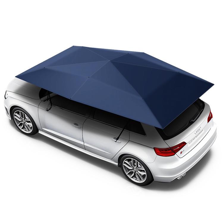 New design Anti-UV automatic folding sun shade covering roof car cover car umbrella
